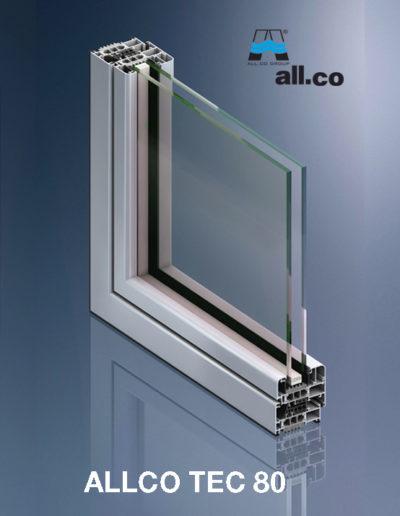 Profilo ALLCO TEC 80